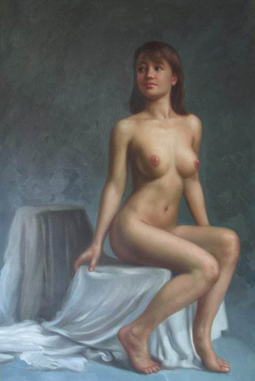 Art oil painting Repro:nude girl 24x36 inch